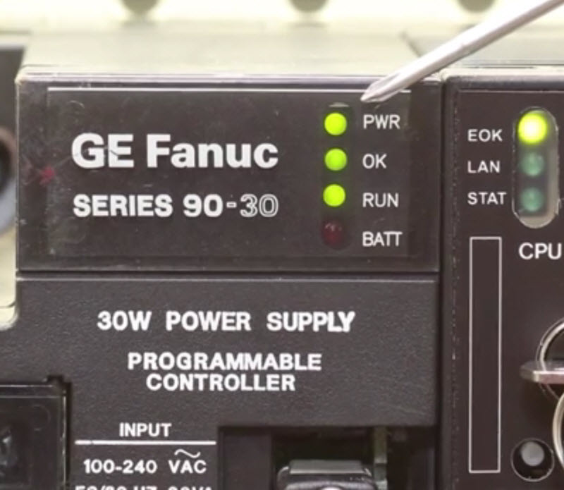 easy troubleshooting guide for the ge fanuc series 90 30 plc system rh pdfsupply com ge fanuc snp plc programming cable ge fanuc plc programming manual pdf