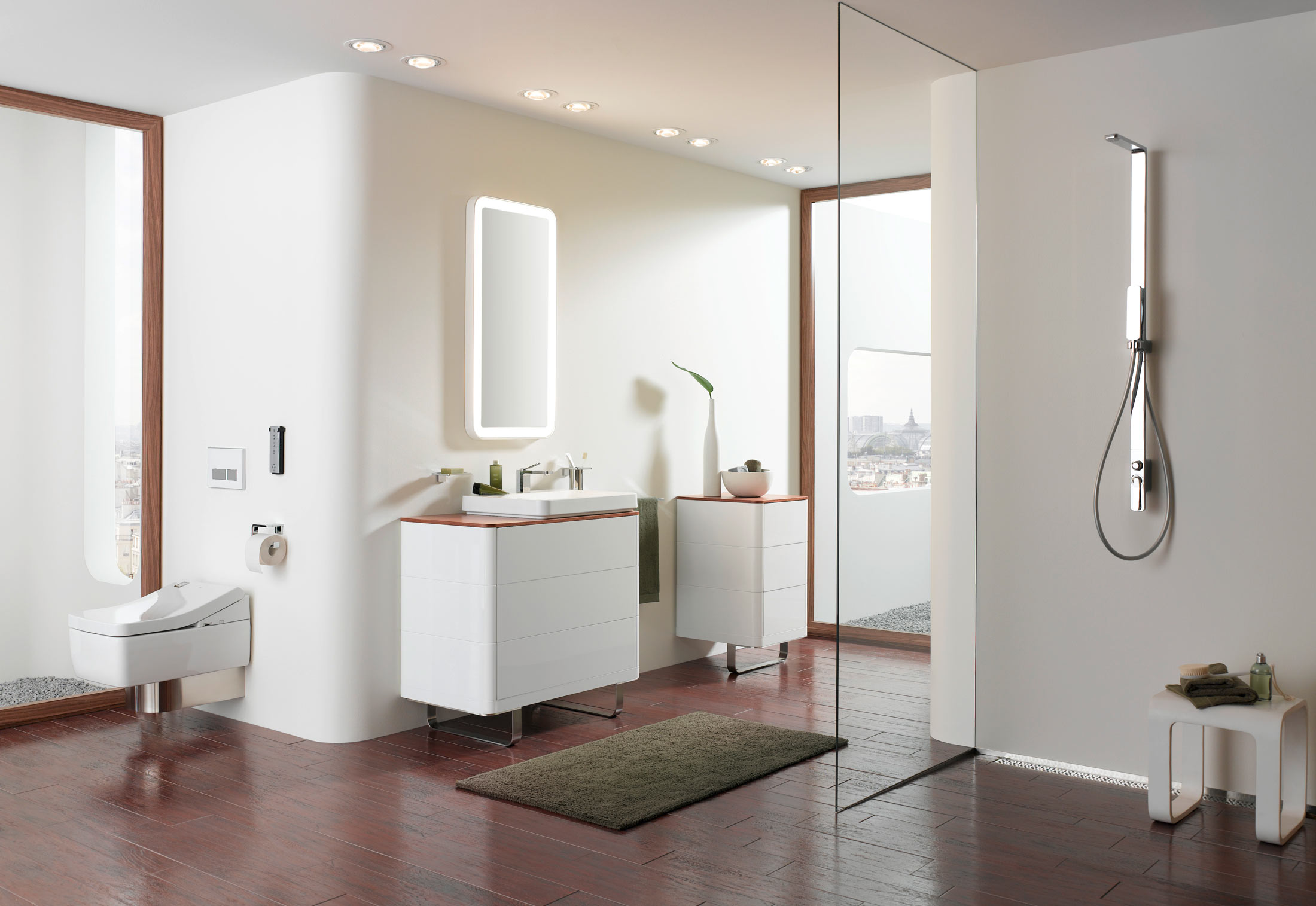 Toto washlet is the automated toilet poised to change your for Toto bathroom designs