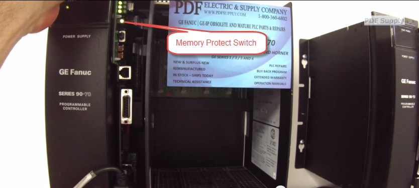 How To Troubleshoot GE Fanuc 9070 Processor, Part IC697CPX782 «
