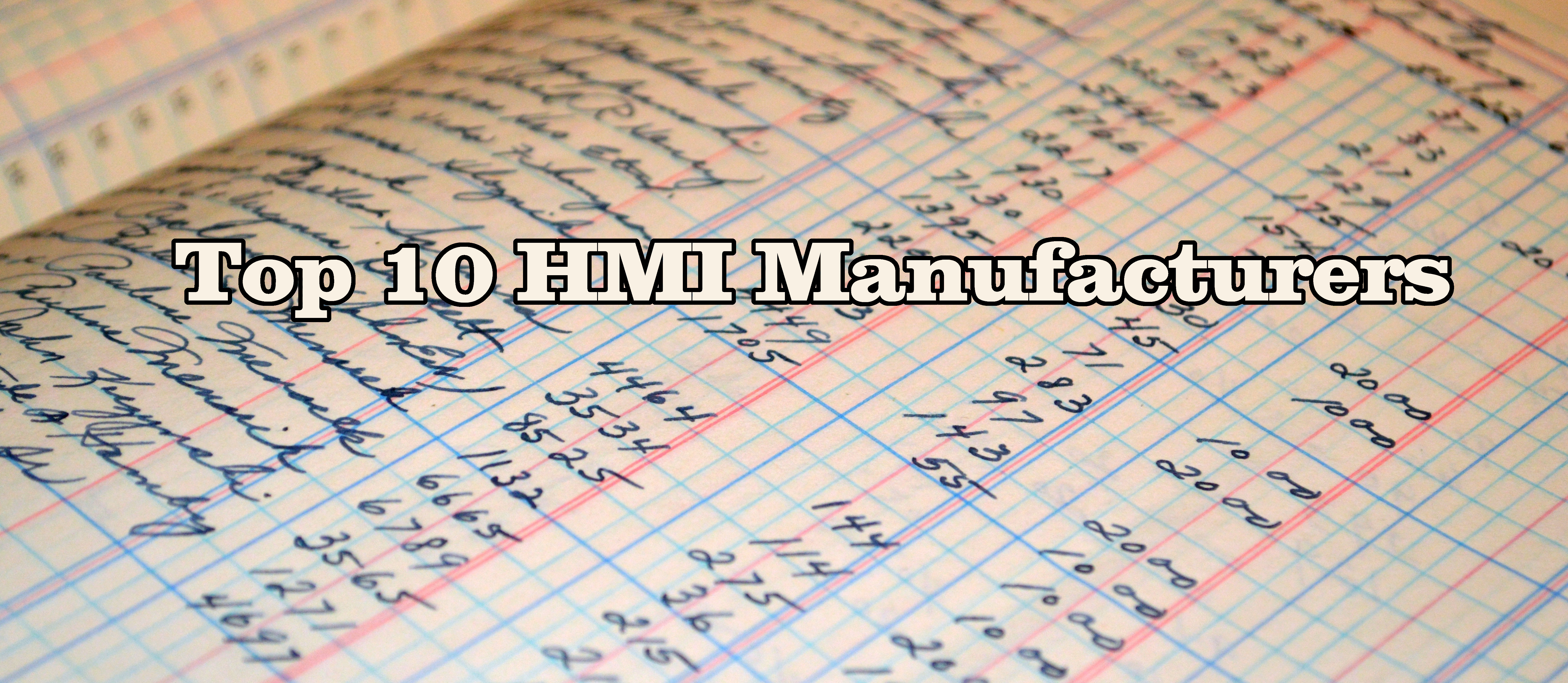 Top 10 HMI Manufacturers in Industrial Automation