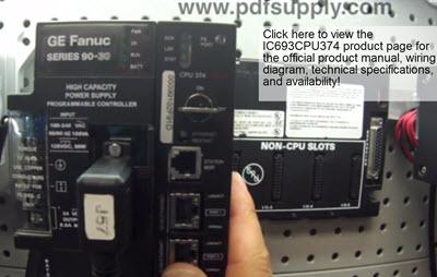 GE Fanuc Series 90-30 IC693CPU374 Troubleshooting «