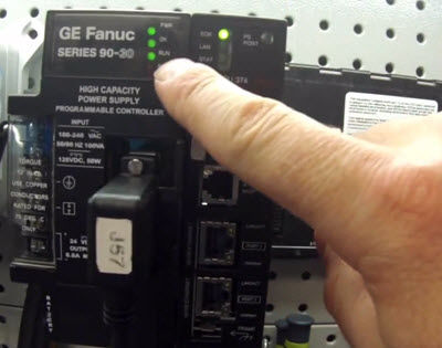 GE Fanuc 90-30 CPU IC693CPU374 Troubleshooting