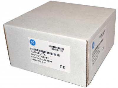 IC200CPUE05 In Stock! CPU 128K user configurable user memory,  0.8MSEC/K Boolean one IC200C IC200CP