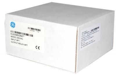 IC200MDD847 Mixed 240VAC input group 8 point / isolated 2 amp relay output 8 point. IC200M IC200MD I
