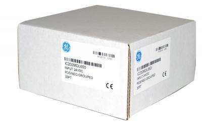 IC200MDL650 In Stock! Input 24VDC POS/NEG logic (4 groups of 8) 32 points IC200M IC200MD IC200MDL PD
