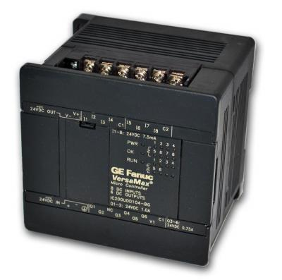 IC200UDD104 In Stock GE Fanuc Versamax Micro 24VDC IN 24VDC OUT 14 point PLC 24VDC power supply | Im