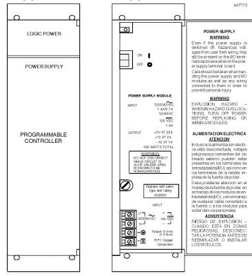 IC697PWR713 In Stock GE FanucAD/DC Power Supply 120/240VDC 100 Watts - Wiring Diagram Image