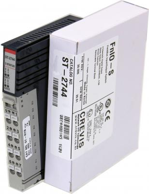 GE ST2744 RSTi output module Isolated Relay Output 4 Points, 230V AC/ 2A GE-IP | Image