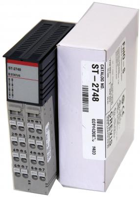 GE ST2748 RSTi output module Isolated Relay Output 8 Points, 230V AC/ 2A GE-IP | Image