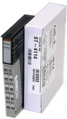 GE ST4114 RSTi analog output module  4 Channels, 020mA  12bit GE-IP | Image
