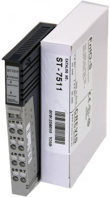 GE ST7511 RSTi 24VDC Expansion power module 5 VDC booster , 1 amp , with module ID type with LED GE-
