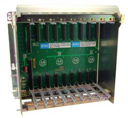 1771-A2B In Stock! Allen Bradley PLC-5 AB 1771 I/O chassis for I/O modules, 8 slots | Image