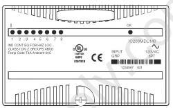 IC200MDL140 Wiring