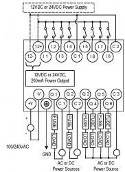 IC200UDR001 Wiring