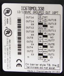 IC670MDL330 In Stock! 12 - 120Vac 1A Output, 16 Point IC670M IC670MD IC670MDL PDFsupply also repairs