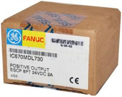 IC670MDL730 In Stock! 24VDC 2A Output, Pos. Logic, 8 Point, Electronic Short Circuit Protect ion  IC