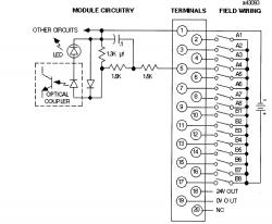 24Vdc Output Pos. Logic 16 pts - Wiring Diagram Image