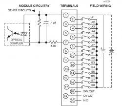 IC693MDL645 Wiring