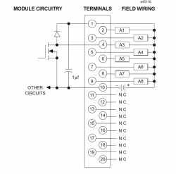 IC693MDL733 Wiring