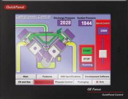 IC754CSX06CTD In Stock GE QuickPanel  6IN Color TFT Touch DC Control 64MB/96MB | Image