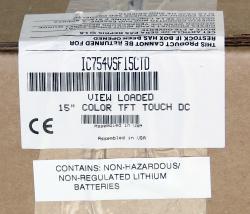 In Stock! IC754VSF15CTD 24VDC QuickPanel 15 Inch | Image