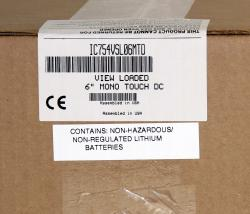 In Stock! IC754VSL06MTD View Loaded 6 In Mono Touch DC | Image