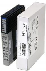 GE ST1124 RSTi input module 4 points, Negative Logic, 5VDC GE-IP | Image