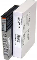 GE ST2318 RSTi output module 8 points, Negative Logic, 24VDC/ 0.5A GE-IP | Image