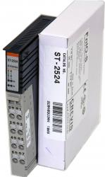 GE ST2524 RSTi output module 4 points, Positive Logic, Diagnostics, 24VDC/ 2A GE-IP | Image