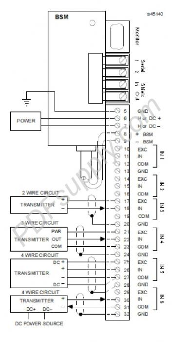 ABB Taylor Mod 300 | 623 624 Series | 6235BP10820 - Wiring Diagram Image