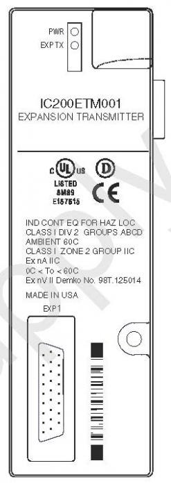 IC200ETM001 EXPANSION TRANSMITTER IC200E IC200ET IC200ETM PDFsupply also repairs GE IP FANUC PLC par