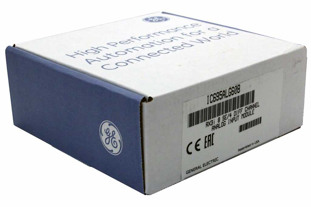 Ic695alg608 Ge Fanuc Plc Rx3i Pacsystem Buy And Sell