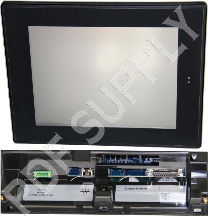 In Stock! IC754VBI12CTD 12 Inch Interm Color Touch Quick Panel View | Image