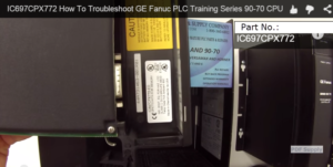 How To Troubleshoot GE Fanuc IC697CPX772
