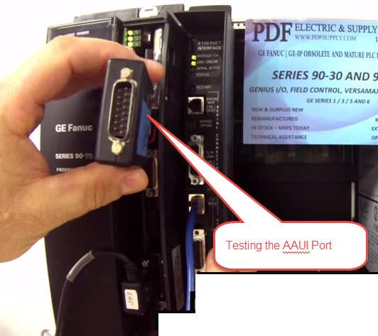 IC697CMM742 Configuration & Wiring GE Fanuc PLC Training 90-70 Ethernet Interface Module