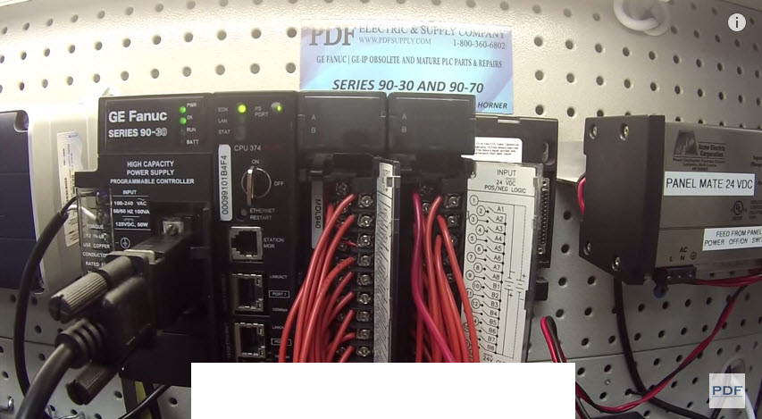 IC693MDL940 & IC693MDL645 GE Fanuc 90-30 How-to Troubleshoot User Manual Proficy Programming
