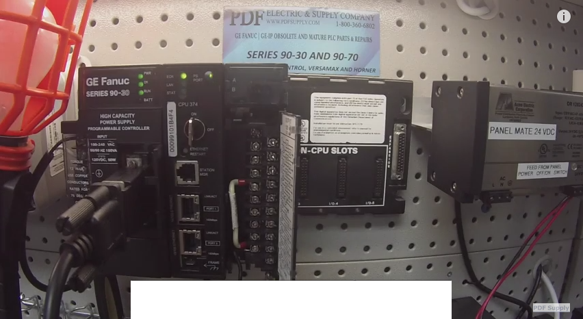 IC693MDL340 Output Module How-to Test GE Fanuc PLC Proficy Programming Tutorial & Training