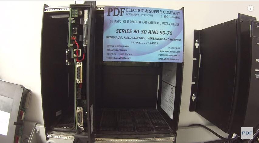 IC697PWR711 GE Fanuc PLC Training Wiring 90-70 Power Supply Lights Diagnostics Test & Troubleshoot