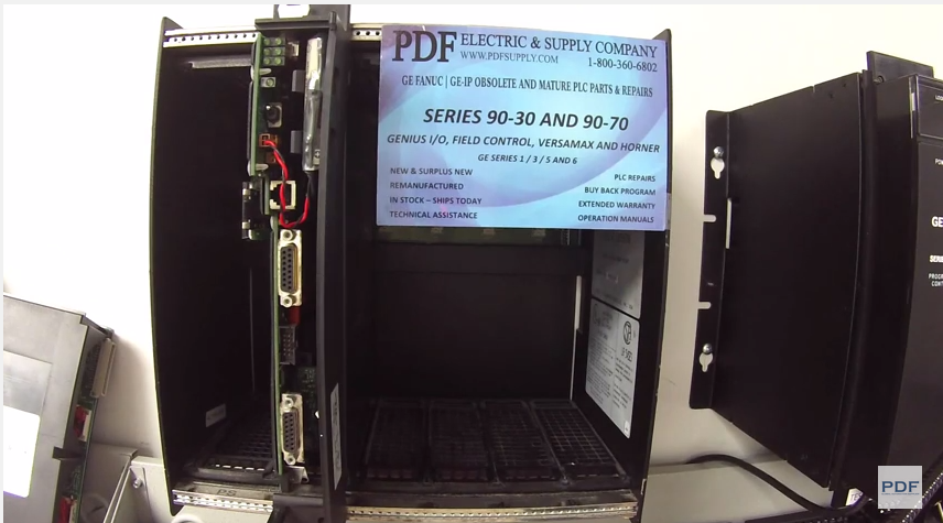 IC697PWR710 GE Fanuc PLC Training Wiring 90-70 Power Supply Lights Diagnostics Test & Troubleshoot