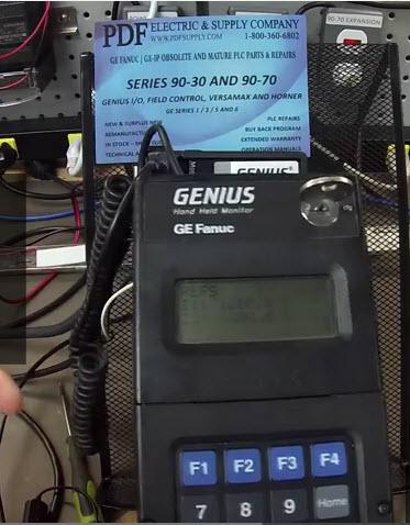 IC660HHM501-Hand-Held-Monitor