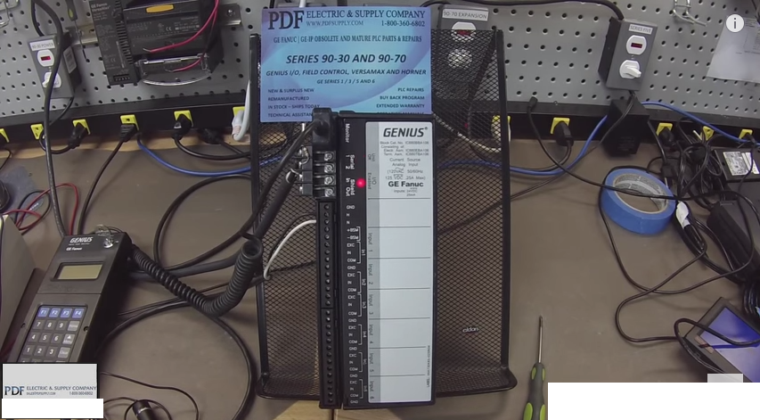 IC660BBA106 How-to Troubleshoot & Test Genius Block I/O Test GE Fanuc PLC Training