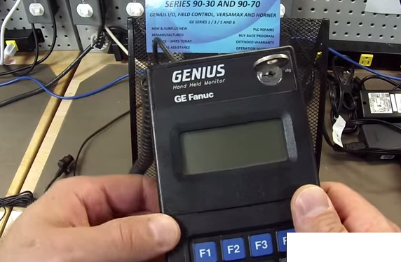genius series handheld monitor